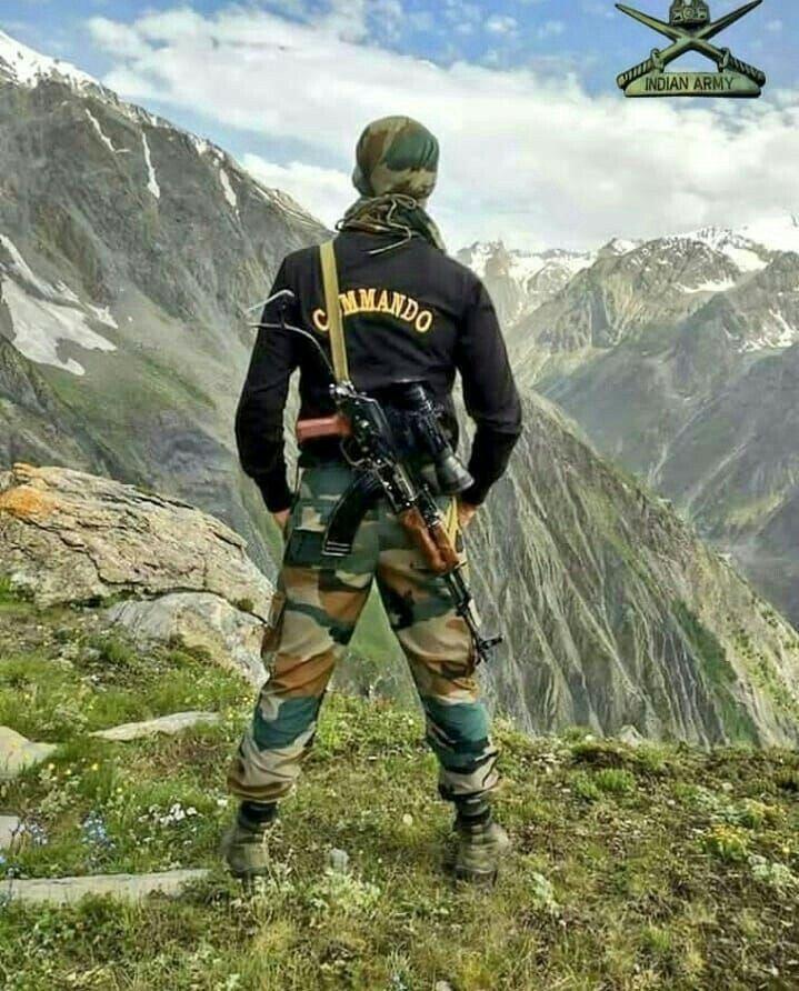 Indian Army Commando | Commando | Indian army, Indian army