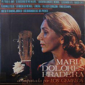 María Dolores Pradera acompañada por Los Gemelos