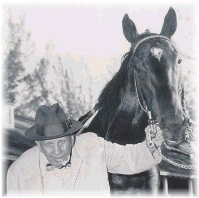 Bold Ruler with trainer Sunny Jim Fitzsimmons