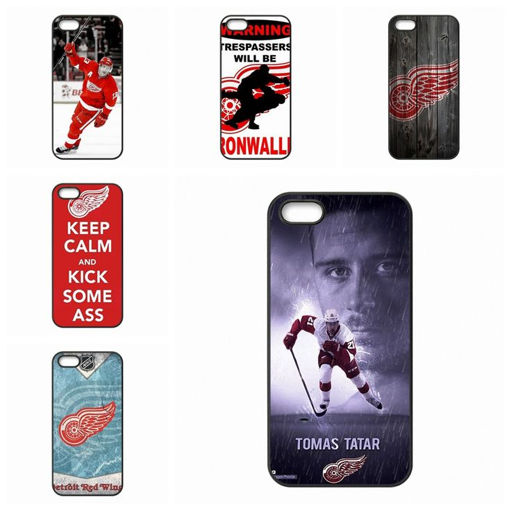 For Samsung Galaxy Note 2 3 4 5 edge lite A3 A5 A7 A8 A9 E5 E7 2016 NHL Hockey Detroit Red Wings Unique photos print Diy