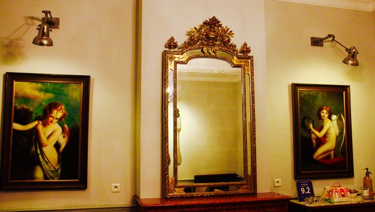 Early 1800s gold leaved mirror from our local brodant contact, a truly stunning piece www.15grandrue.com