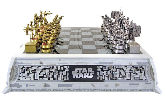 Star Wars Chess Set! MUST HAVE THIS!