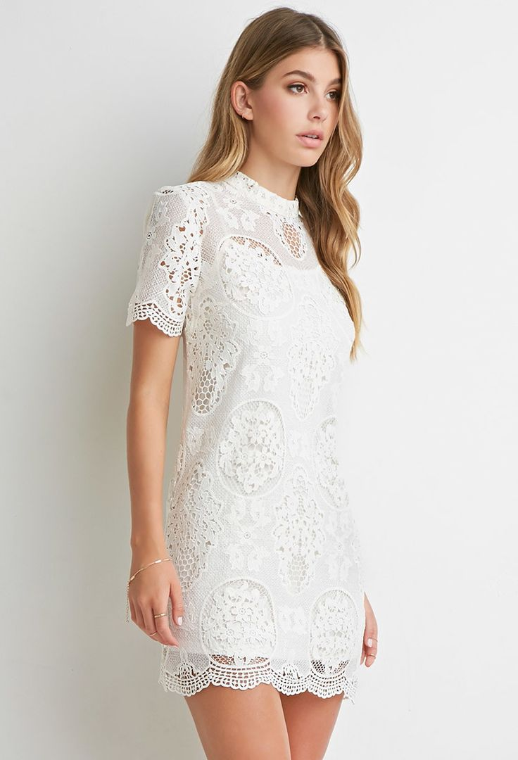 Ornate Crochet Lace Dress | Forever 21 - 2000157645