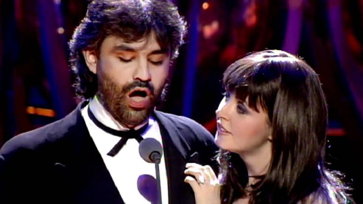 Sarah Brightman & Andrea Bocelli - Time to Say Goodbye  1997 Video  ster...