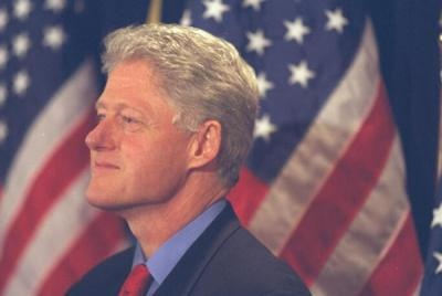 President Clinton. Photograph from the William J. Clinton Presidential Library