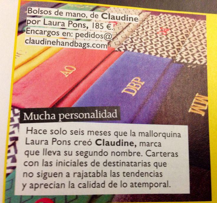 #grazia #magazine #spain #clutch #claudine #handbags