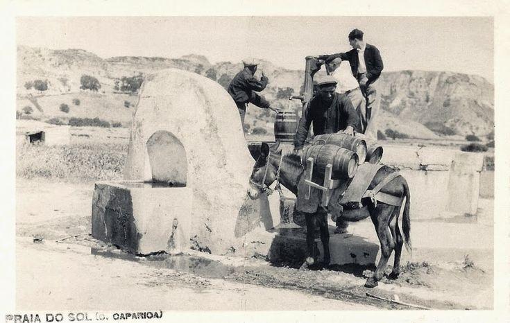 Costa da Caparica, poço de bomba