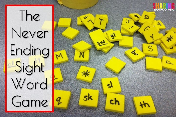 Here is a tried and true,kid tested and teacher approved,NEVER ENDING Sight Word Game. This game is very easy to create and can be used again and again and again. You will need a sight word list, Sharpie, container like an old coffee tin, and foam squares that can be found at the dollar store. …