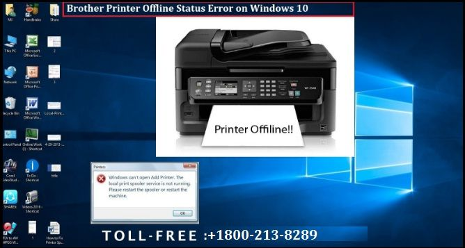 How to Fix Brother Printer Offline Status Error on Windows