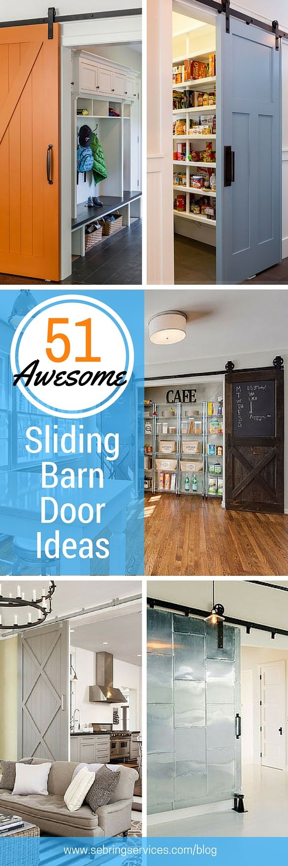 51 awesome sliding barn door ideas sliding doors for Barn doors for home office