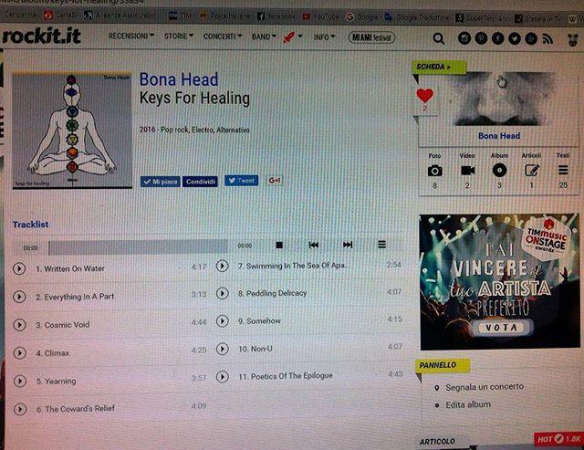 Listen for Free 'KEYS FOR HEALING' on #rockit (Feb 22, 2016)