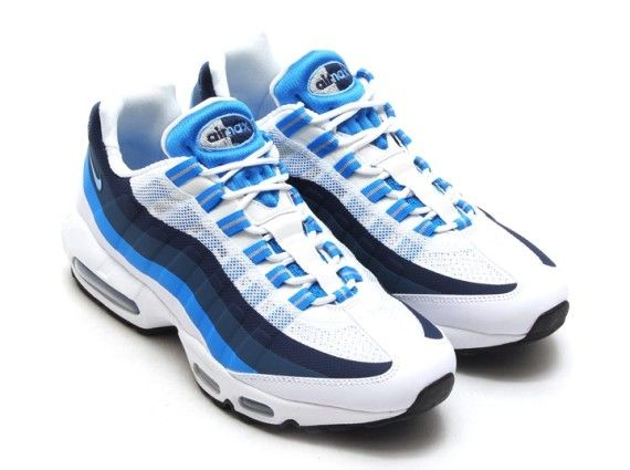 huge discount 52e9f f3a6f ... nike air max 90 no sew white university blue photo blue 03 Nike Air Max  95 ...