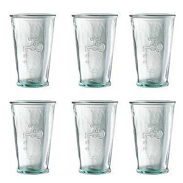 Jamie Oliver Gerecycled Water Glas - Set van 6  Ideeën voor het huis ...