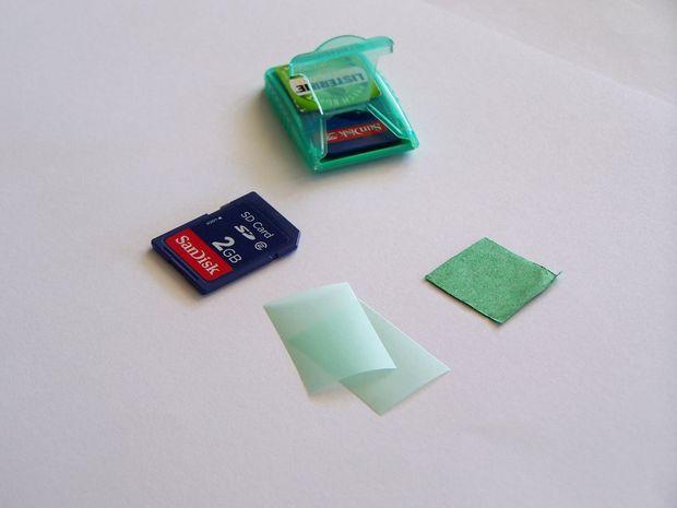 Listerine SD Card Holder style