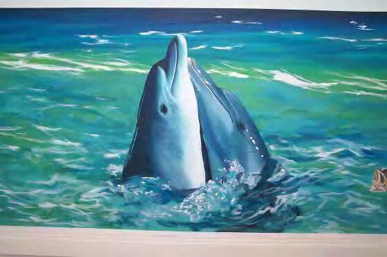 dolphin love - Mural Idea in Louisville KY