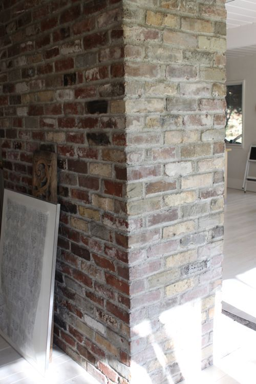 25+ best Whitewashing exterior brick ideas on Pinterest