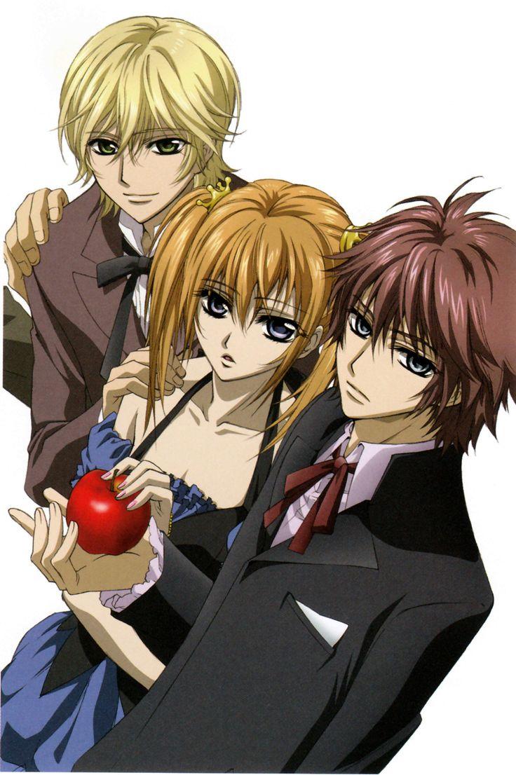 Shiki, Rima and Ichijo, Vampire Knight