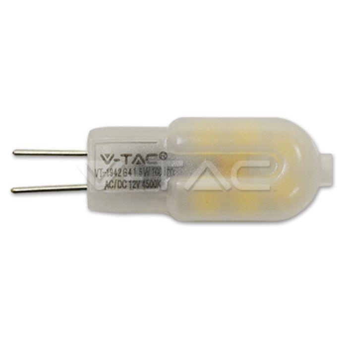 LED žiarovka G4 s päticou G4 používa LED diódy so spotrebou 1,5W, čo prináša 10 násobné úspory v porovnaní s klasickými žiarovkami. Ich životnosť je súčasne 50