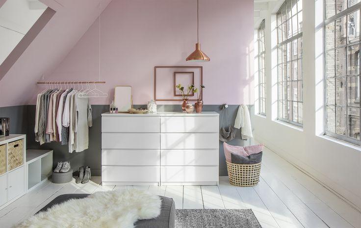 Maak van je zolder de walk-in-closet van je dromen! Stal pronkstukken uit en…