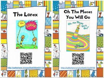 Dr Seuss Free QR Code Read Aloud by Elementary Energy Station   Teachers Pay Teachers