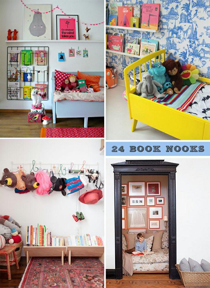24 book nooks | artbarblog.com