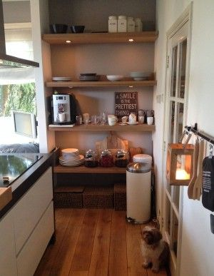 keukeneiland met koffiehoekje