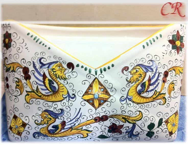 Porta Lettere   Ceramiche Rinascita