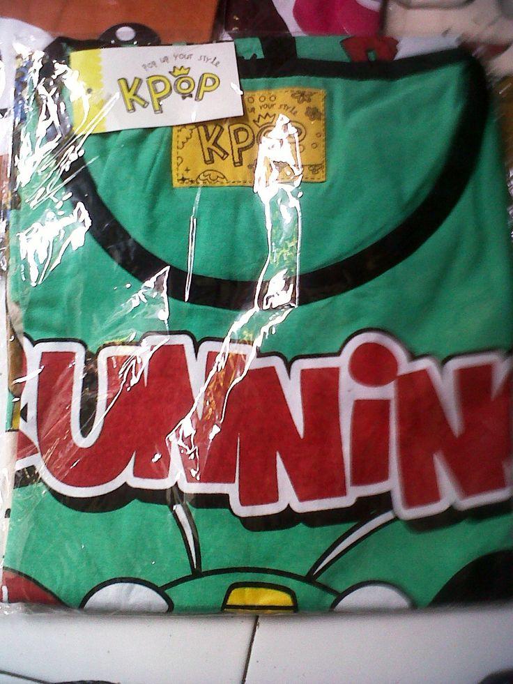 Kaos Running Man IDR 35.000