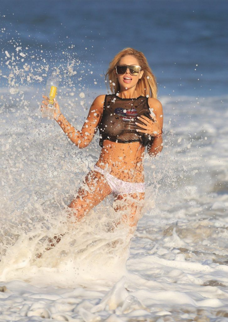 Francesca Larrain new Photoshoot for 138 Water