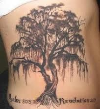 I eventually want to get a willow tree tattoo... Not sure where it would go though
