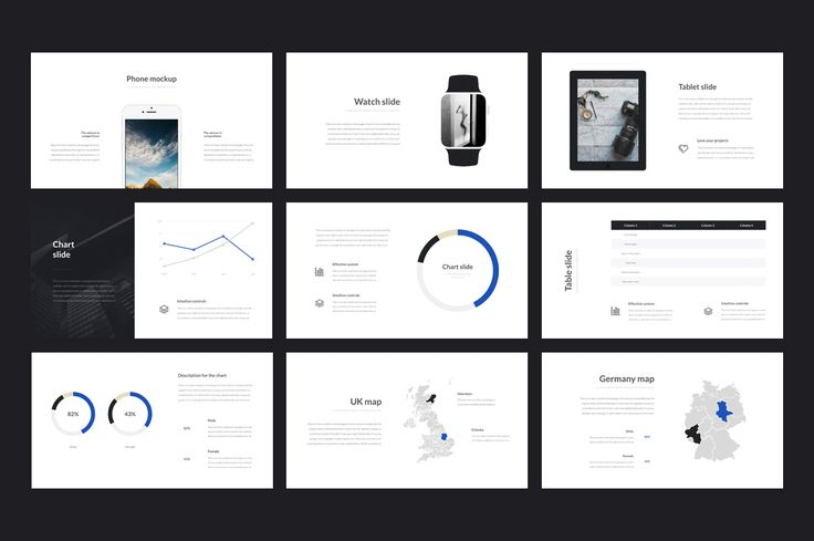Clarity Keynote Template by Entersge on @creativemarket