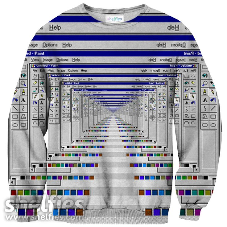 The print is all over the entire sweater (front and back) using new sublimation printing technology which allows us to achieve photorealistic quality prints. Cl