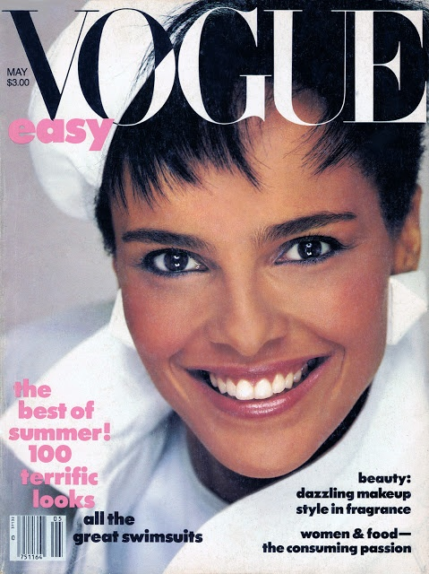 Actress/Model Shari Belafonte (daughter of Harry Belafonte) - Vogue May 1985 by Avedon