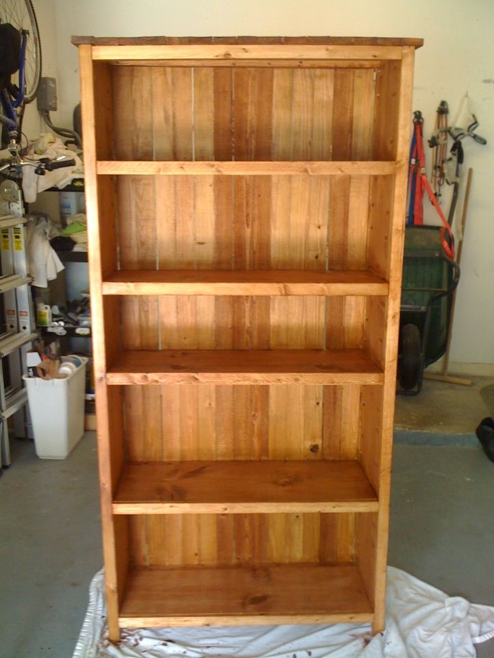 Do It Yourself Home Design: Rustic Style Bookcase - Kreg Owners' Community