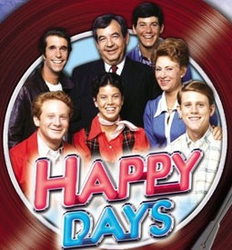 "Happy Days is a 1970's sitcom set in 1950's Wisconsin, and revolves around teenager Richie Cunningham, his family and friends including Arthur ""Fonzie""/""The Fonz"" Fonzarelli, Potsie and Ralph Malph. Seasons 1-4 are now available."