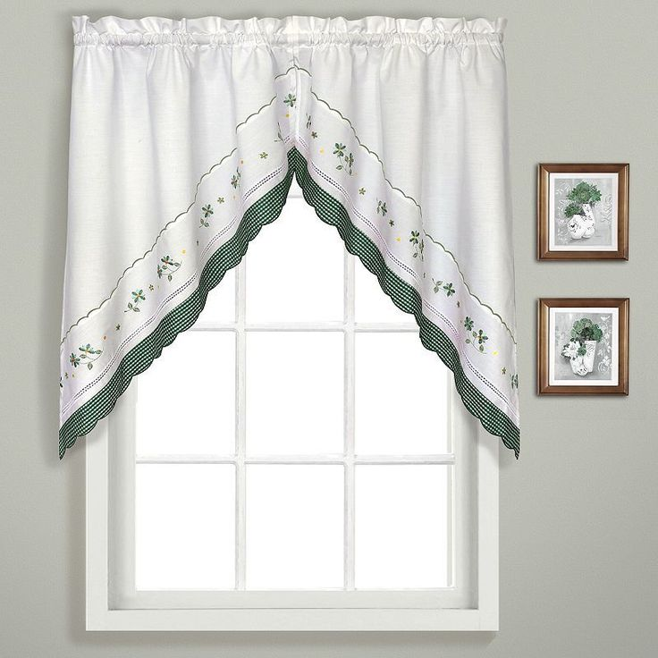 Rosemary Linen Kitchen Curtain Swag: 1000+ Ideas About Swag Curtains On Pinterest