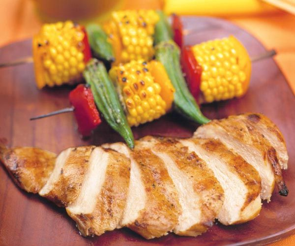 How to make chicken breast tender on the grill