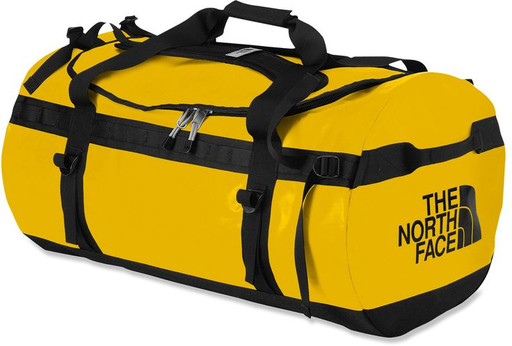 the indestructible north face base camp duffel. Perfect size to carry boots and all the rest of your gear.