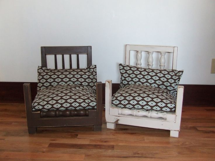repurpose furniture dog. adorable dog beds from old chairs repurpose furniture