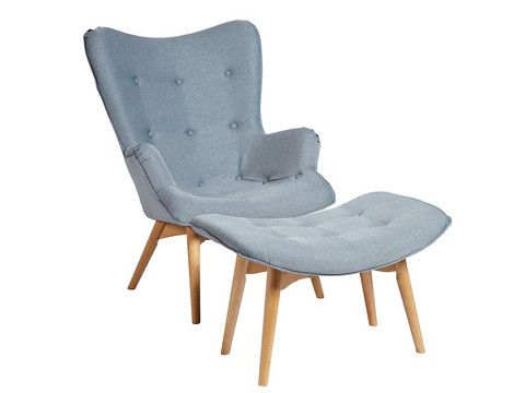 SAS | Loco Occasional Chair in Pale Blue | The Banyan Tree Furniture