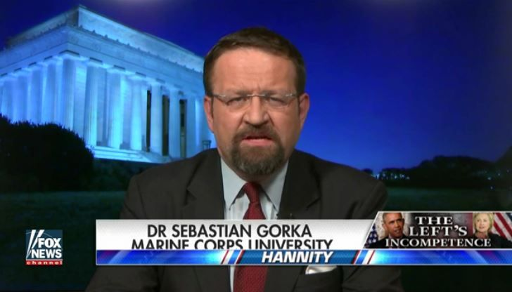 Dr. Sebastian Gorka, the Major General Matthew C. Horner Distinguished Chair in Military Theory at the Marine Corps University, appeared on Sean Hannity's