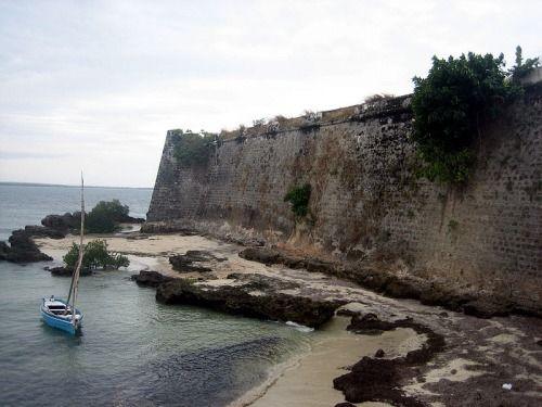 St. Sebastian Fortress - Erik Cleves Kristensen Mozambique