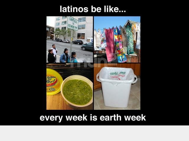 funny: latinos be like (earth week) | NBC UNIVERSO