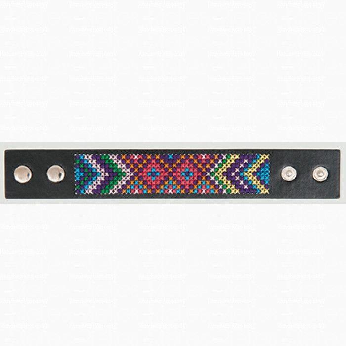 Set 'Armband om te borduren' (9 cm breed) nr. 1 - Sieraden zelf maken