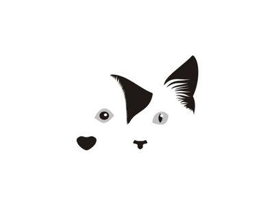 Dog & Cat for veterinary hospital logo design symbol by Alex Tass