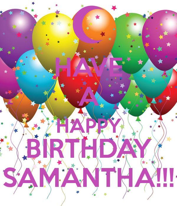 Image Result For Happy Birthday Samantha Cake
