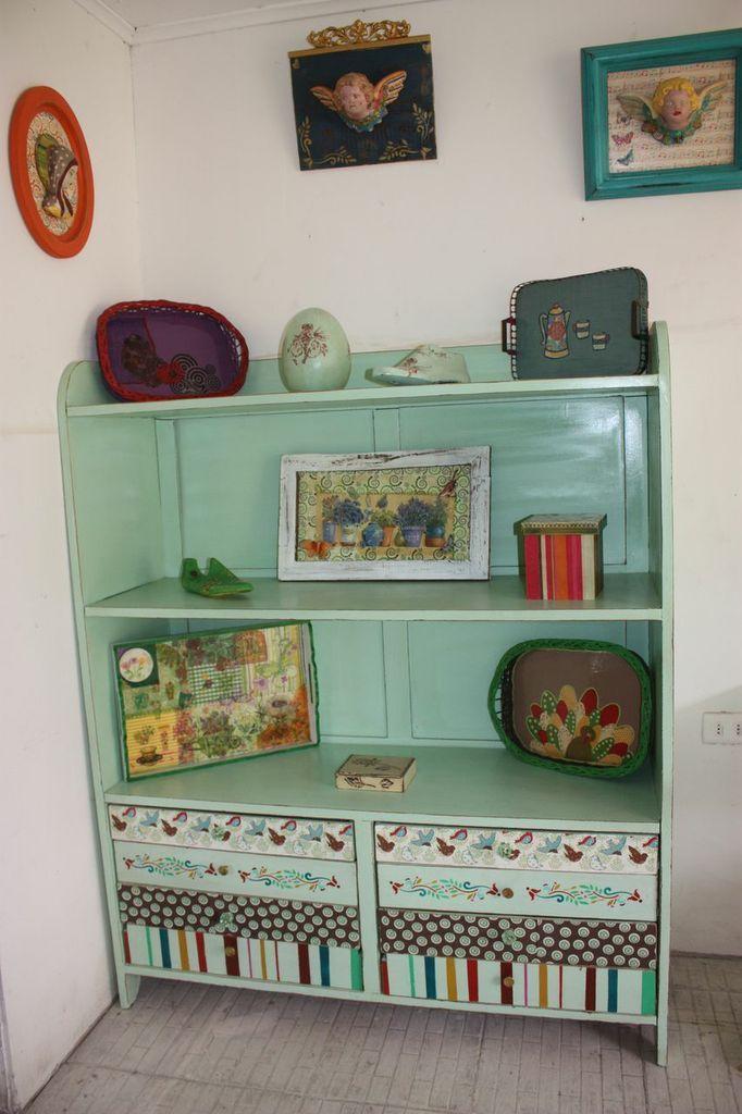 Mueble de roble decapado  Decoración, muebles y +  Pinterest