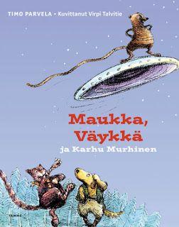 Opuscolo - kirjasta kirjaan: Lasten linnoitus: Timo Parvelan Maukka ja Väykkä - helmien helmiä
