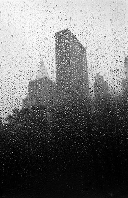 NYC. Quintessential shapes through the rain
