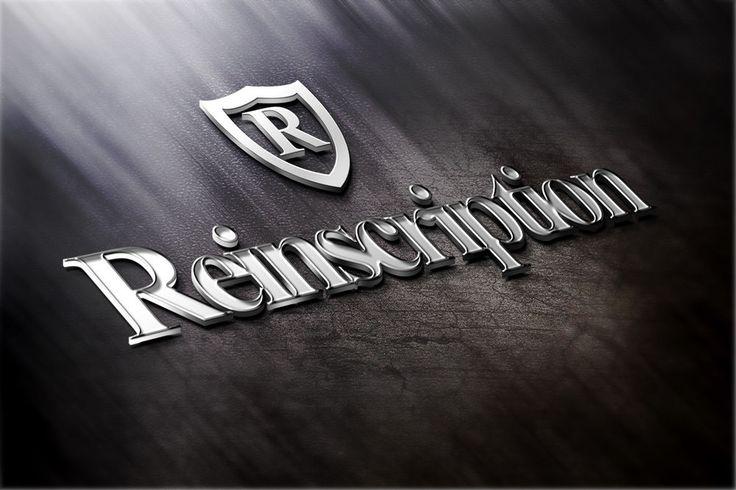Reinscription.com Keyword Domain Name Sale No Reserve Price logo art Included
